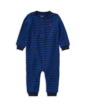 Ralph Lauren Childrenswear Boys' Striped Coverall - Baby