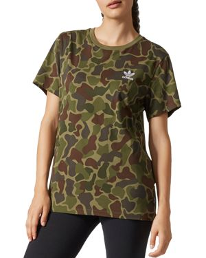 adidas Originals Pharrell Williams Camo Logo Tee
