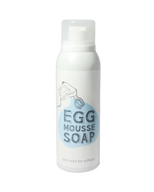 TOO COOL FOR SCHOOL Egg Mousse Soap Facial Cleanser 5.07 Oz/ 150 Ml