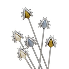 Joanna Buchanan - Bug Swizzle Sticks, Set of 6