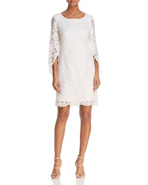 nanette Nanette Lepore Tulip-Sleeve Lace Dress