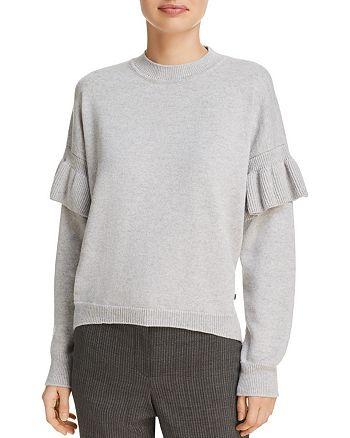 BOSS - Ruffle-Sleeve Sweater