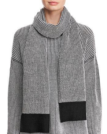 Eileen Fisher - Textured Sweater-Knit Scarf