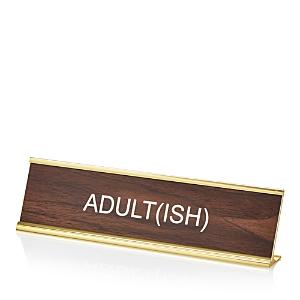 He Said She Said Adult(ish) Nameplate - 100% Exclusive