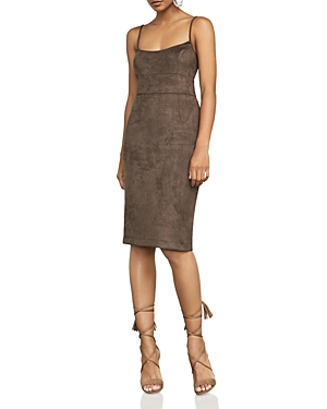 Bcbgmaxazria Alese Faux-Suede Dress