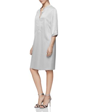 Reiss Mccarthy Paneled Shirt Dress
