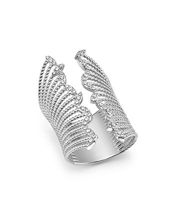 Bloomingdale's - Diamond Wide Statement Open Ring in 14K White Gold, 0.50 ct. t.w. - 100% Exclusive