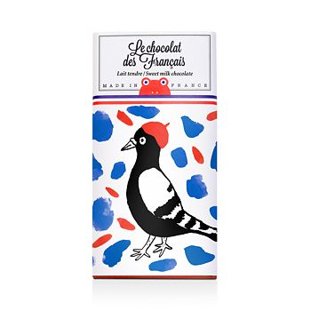 Le Chocolat des Francais - Oiseau Tender Milk Chocolate Bar, 3.17 oz.