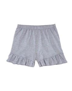 AQUA Girls' Ruffle-Trimmed Shorts, Big Kid - 100% Exclusive - Bloomingdale's_0