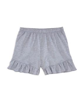 AQUA - Girls' Ruffle-Trimmed Shorts, Big Kid - 100% Exclusive