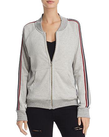 Sundry - Stripe-Trimmed Track Jacket