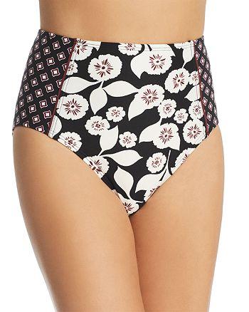 kate spade new york - High Waist Bikini Bottom