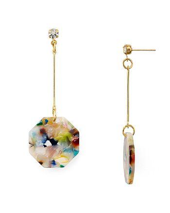 AQUA - Circle Drop Earrings - 100% Exclusive