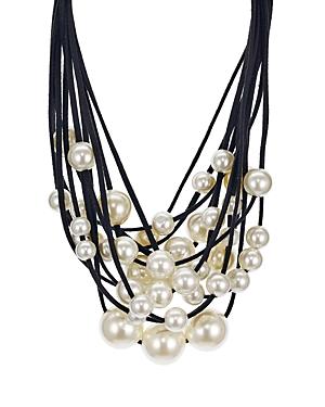 Aqua Layered Statement Collar Necklace, 14 - 100% Exclusive