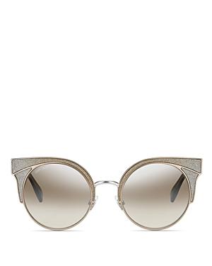 Jimmy Choo Women's Oras Mirrored Cat Eye Sunglasses, 51mm