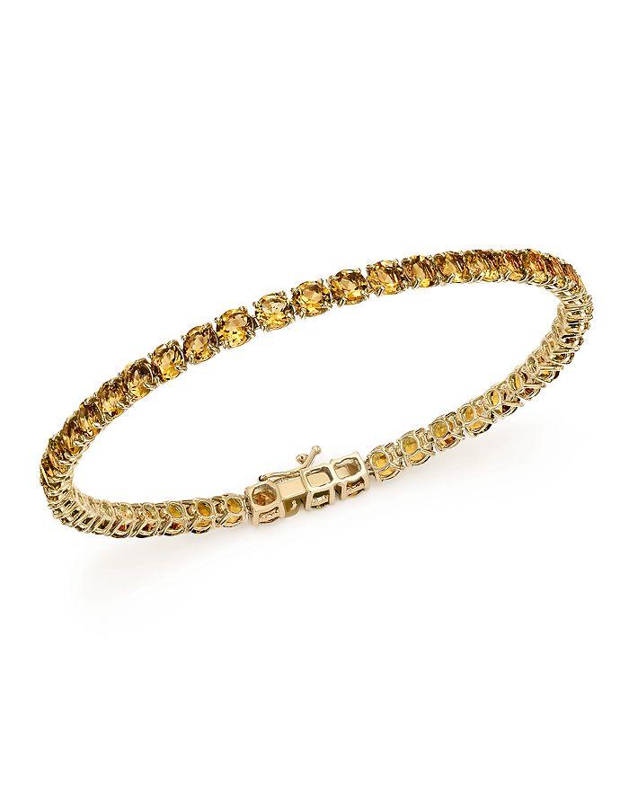 Bloomingdale's - Citrine Tennis Bracelet in 14K Yellow Gold - 100% Exclusive