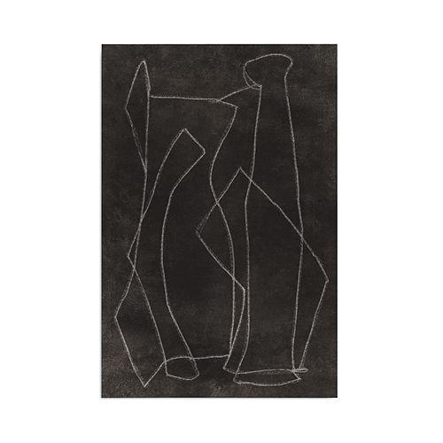 "Art Addiction Inc. - Blind Drawing #1 Wall Art, 40"" x 60"""