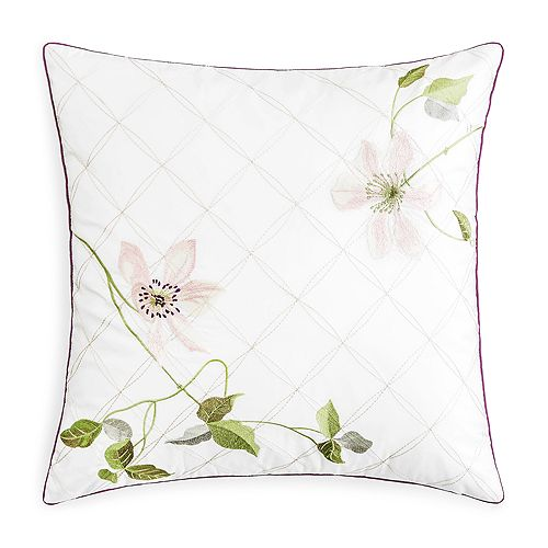 Yves Delorme Clematis Decorative Pillow 40 X 40 Bloomingdale's Inspiration Yves Delorme Decorative Pillows