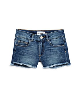 DL1961 - Girls' Lucy Cut-Off Denim Shorts - Little Kid