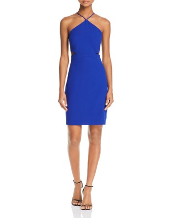 $Aidan Aidan Side-Cutout Dress - Bloomingdale's
