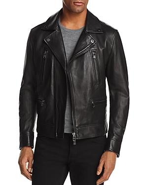 Boss Necko Leather Biker Jacket