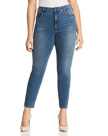 NYDJ Plus - Uplift Alina Legging Ankle Jeans in Ferris