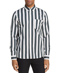 A.P.C. Alexis Striped Long Sleeve Button-Down Shirt - Bloomingdale's_0