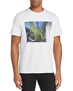 A.p.c. Palm Tree Crewneck Short Sleeve Tee