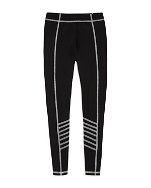 Terez Girls Leggings with Contrast Stitching  Big Kid