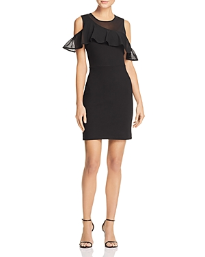 French Connection Lore Lula Cold-Shoulder Dress