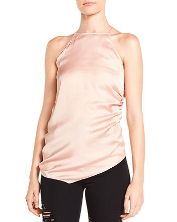 Haute Hippie - I Wished for You Ruched Asymmetric Top