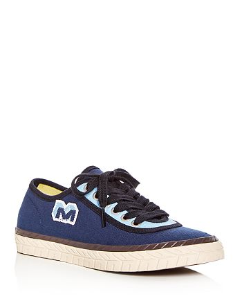 Marni - Women's Color-Block Lace Up Sneakers