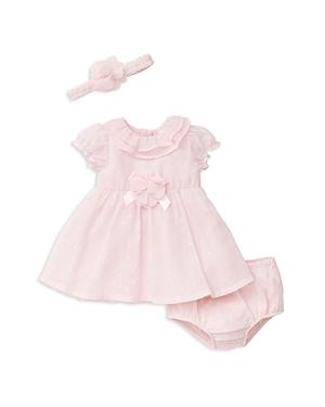 Little Me Girls' Chiffon Dress, Bloomers & Headband Set - Baby