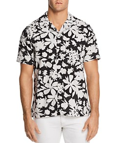 Todd Snyder Floral Short Sleeve Button-Down Shirt - Bloomingdale's_0