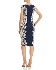 Tadashi Shoji - Crochet Overlay Dress