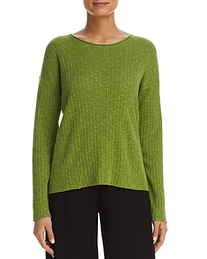 Eileen Fisher Lightweight Ribbed Sweater