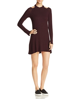 Michael Stars - Cutout Mini Dress
