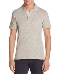 Billy Reid Striped Slim Fit Polo Shirt - Bloomingdale's_0