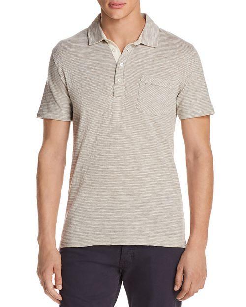 Billy Reid - Striped Slim Fit Polo Shirt