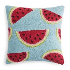 "Peking Handicraft - Watermelon Decorative Pillow, 16"" x 16"""