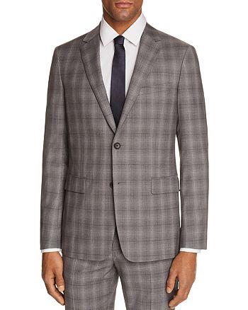 Theory - Wellar Tonal Check Plaid Slim Fit Suit Jacket
