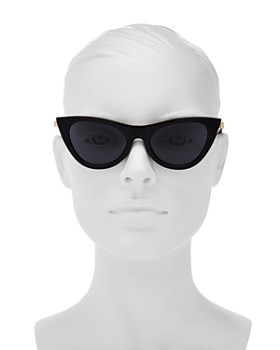 Le Specs - Women's Enchantress Cat Eye Sunglasses, 51mm