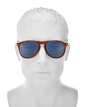 Persol - Men's Icons Collection Evolution Pilot Square Sunglasses, 55mm