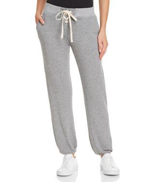 Monrow Lace-Up Sweatpants