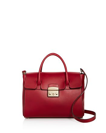 80829da079d Furla Metropolis Medium Leather Satchel | Bloomingdale's