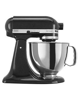 KitchenAid - Artisan 5-Quart Tilt Head Stand Mixer with Stainless Steel Bowl #KSM150PS
