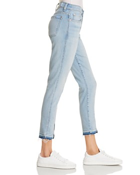 7 For All Mankind - Ankle Skinny Jeans in Ocean Breeze - 100% Exclusive