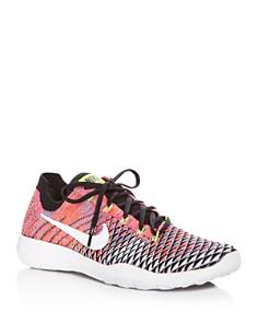 Nike Women's Free Flyknit Lace Up Sneakers - Bloomingdale's_0