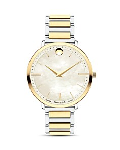 Movado - Ultra Slim Two-Tone Watch, 35mm