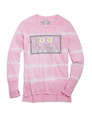 So Nikki. Girls' Good Karma Tie-Dye Tee - Big Kid